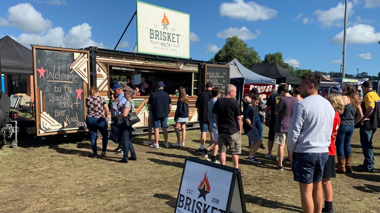 READY: Tim Rees and his team at Brisket and Co. are gearing up for a massive day Saturday at the Sunshine Coast Beef and Beers Festival at the Lake Kawana foreshore at Sunshine Coast Stadium.