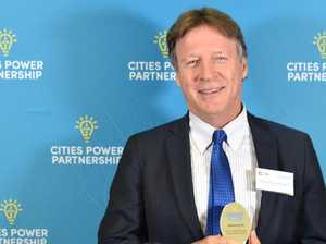 Mayor honoured for leading Noosa climate fight