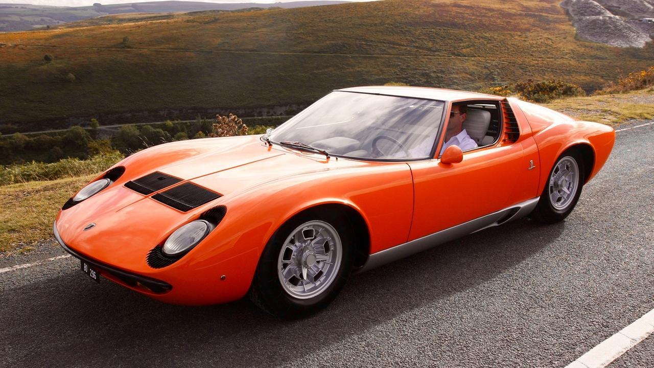 Supermodel looks hid the Lamborghini Miura's inner beast.
