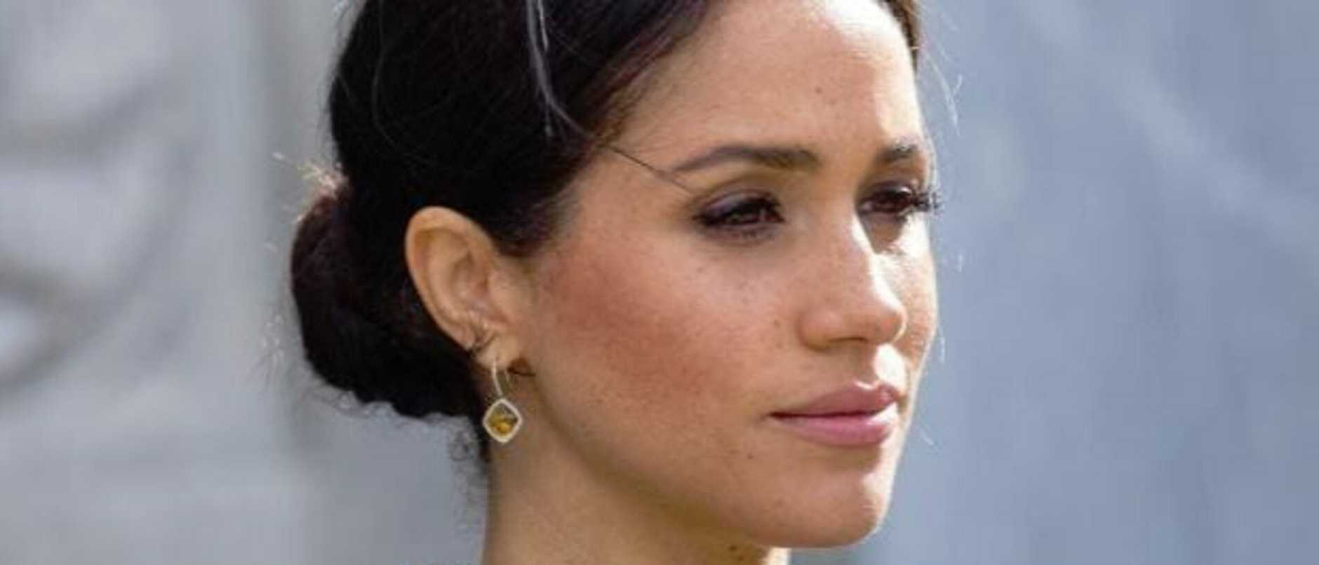 Supplied Editorial Sad Meghan Markle - Getty Images