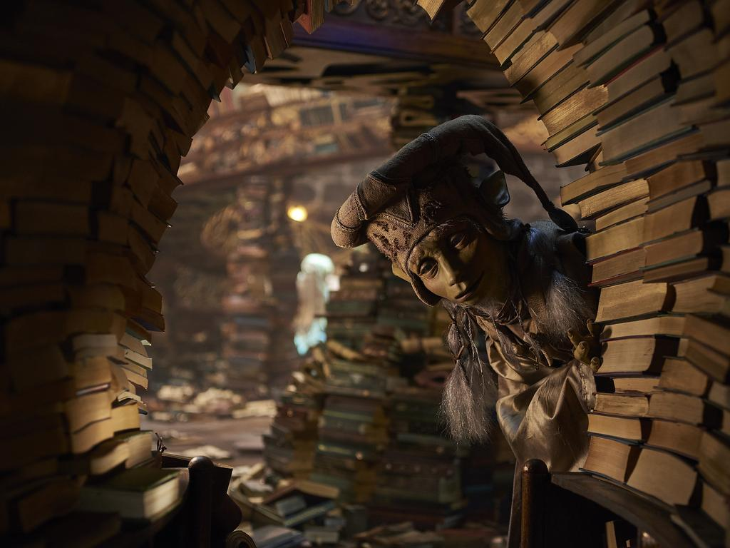 This image released by Netflix shows a scene from the series The Dark Crystal: Age of Resistance, debuting on Friday on Netflix. Picture: Kevin Baker/Netflix via AP