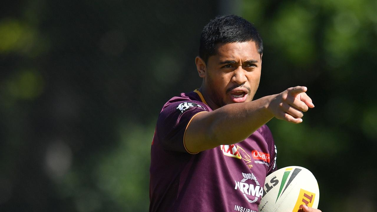 Anthony Milford is the man to inspire Brisbane. Picture: Darren England