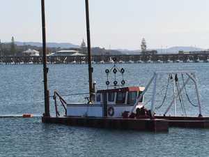 Dredging deeper in the harbour