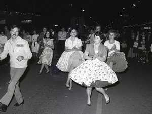 Party in the street in 1978