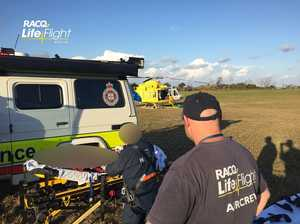 One airlifted to hospital after crash on Fraser Island