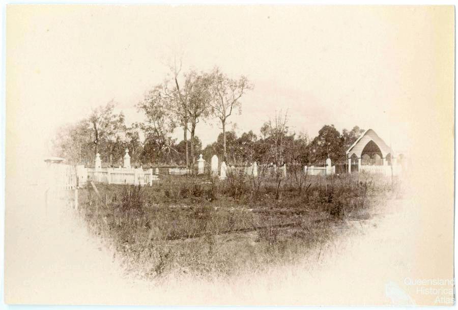 Mount Morgan Cemetery, 1893.