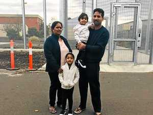 Bilo family reportedly taken to Christmas Island overnight