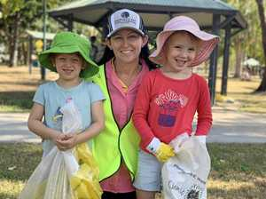 Kindy kids lend a hand for Great Northern Clean Up