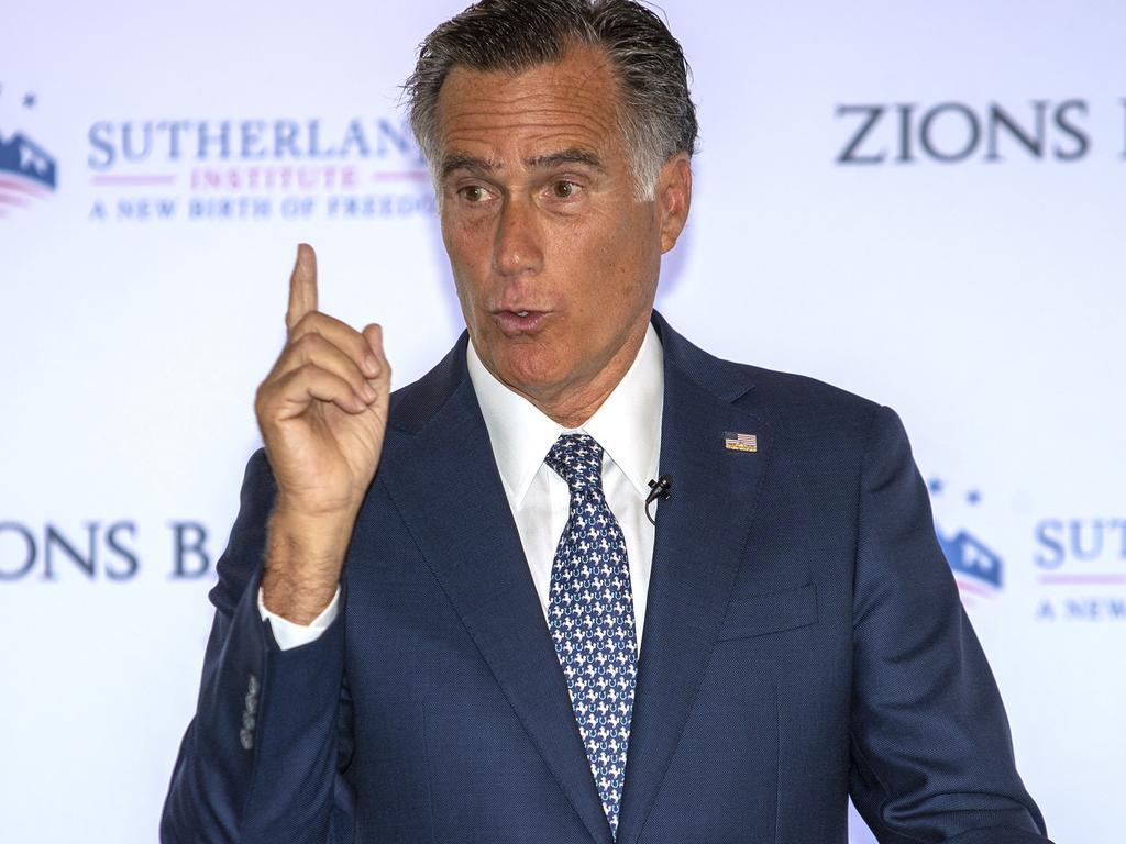 Mitt Romney. Picture: AP