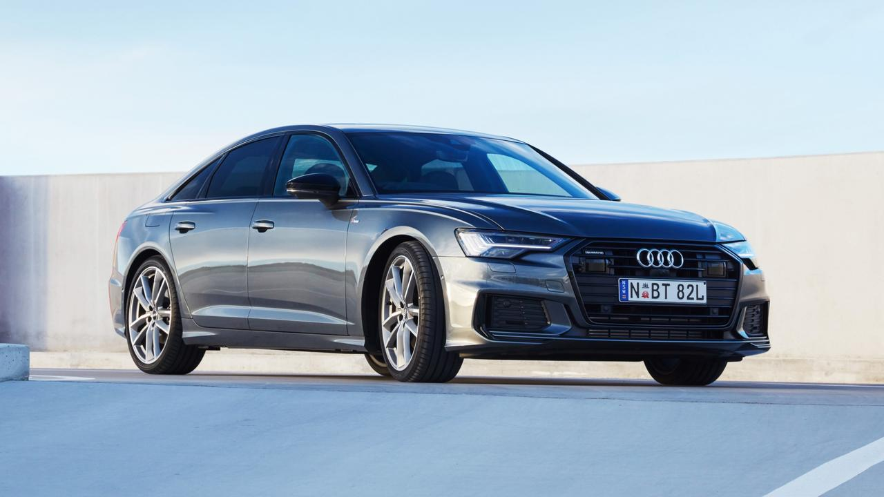 The Audi A6 is brisk on the road thanks to the 500Nm of torque.