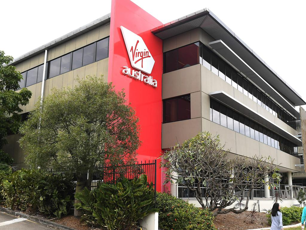 Virgin Australia's head office at Bowen Hills is home to about 1300 employees including CEO Paul Scurrah.
