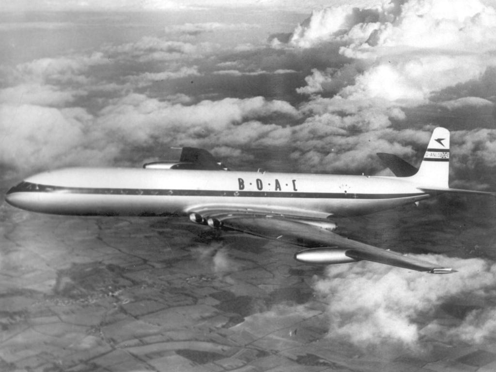 The de Havilland Comet, the world's first passenger jet.
