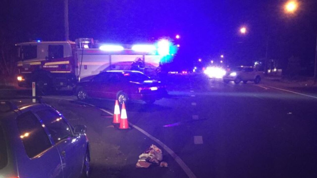TRAFFIC INCIDENT: Emergency services were called to South Bundaberg on Friday night.