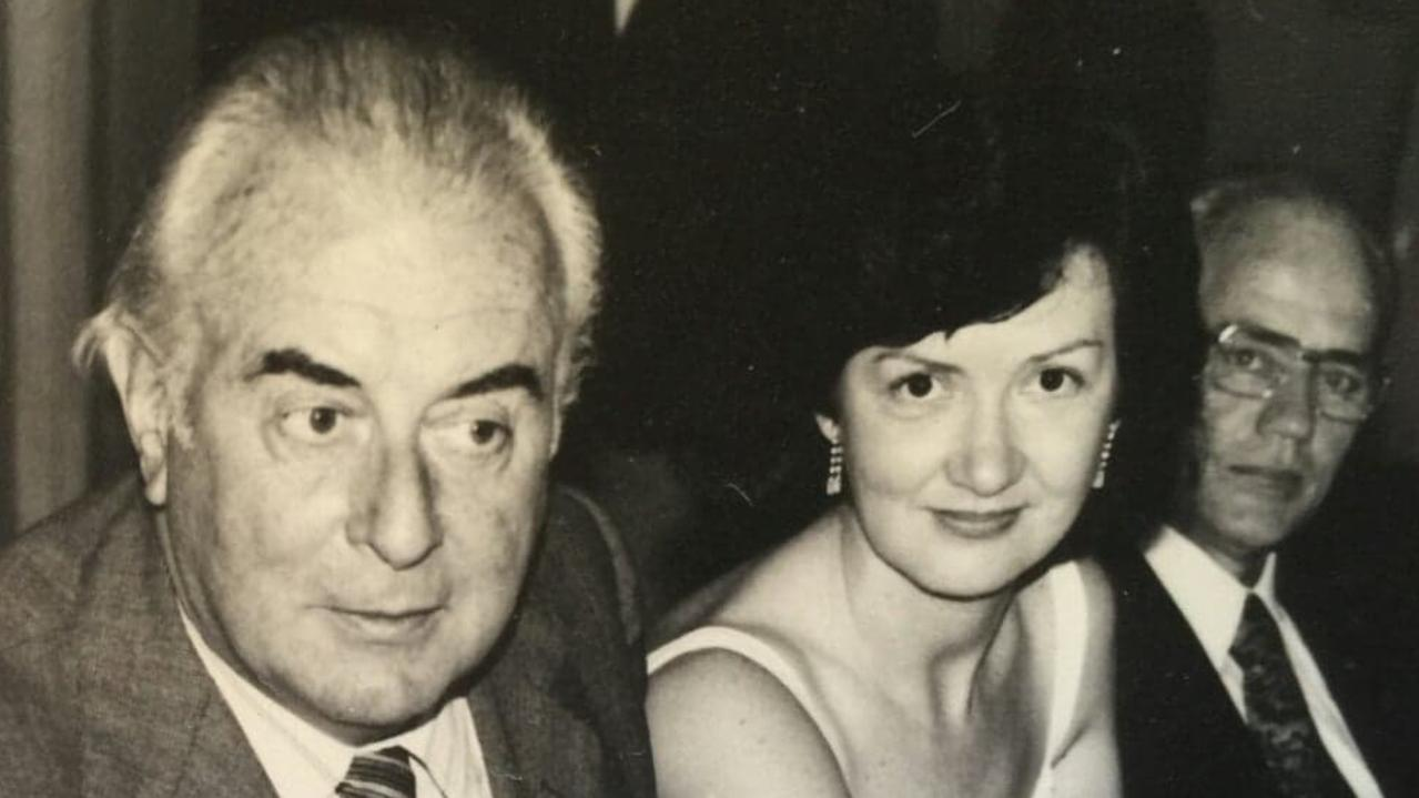 TRAILBLAZER: Gough Whitlam and Elaine Darling, who died on August 30. Picture: Contributed