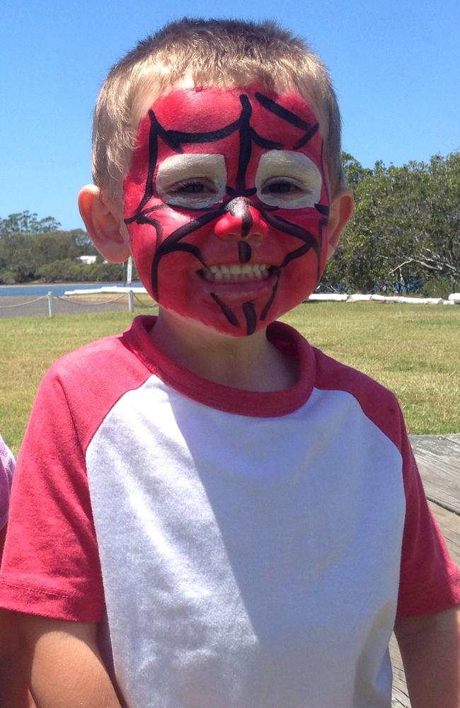 William's foster mother said she desperately searched for a sign of his red Spider-Man suit.