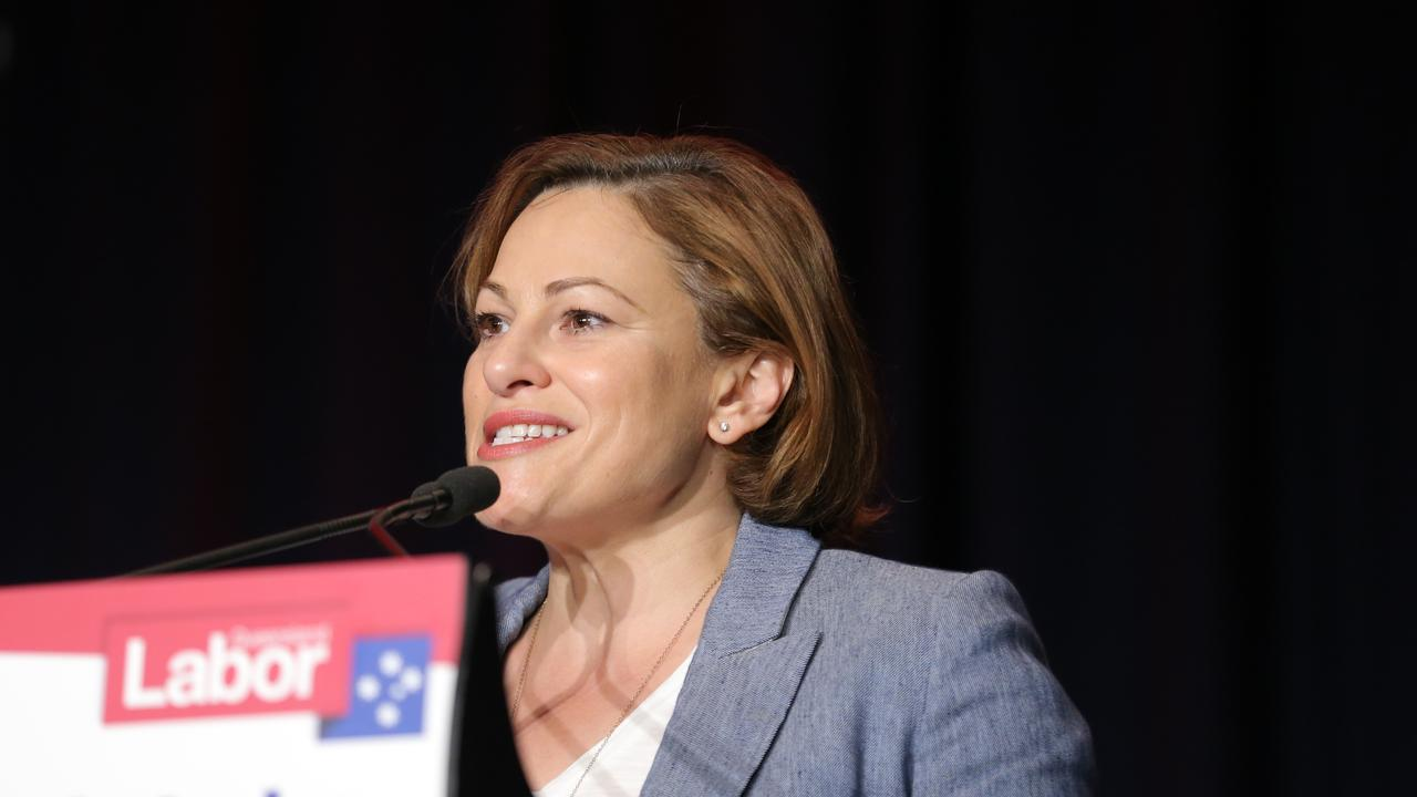 Jackie Trad at the ALPQ State Conference. Picture: Mark Cranitch.