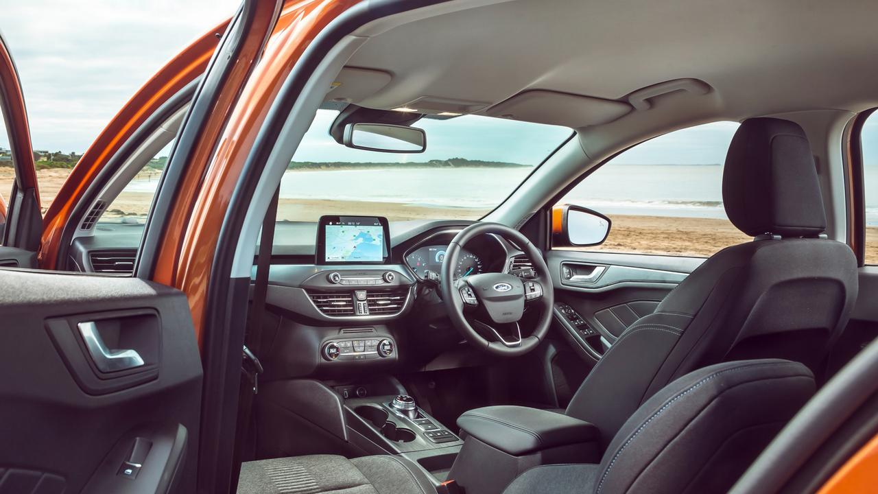 The Active's cabin isn't class leading, but is still an enjoyable space.