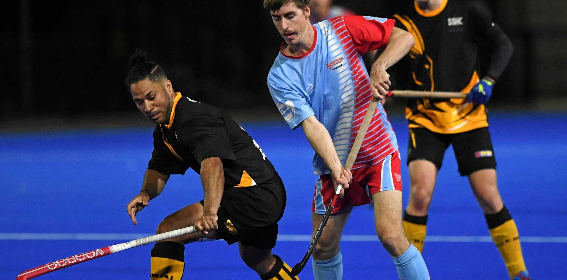 Hockey, Souths, Mike Elton and Wanderers Clinton McKay