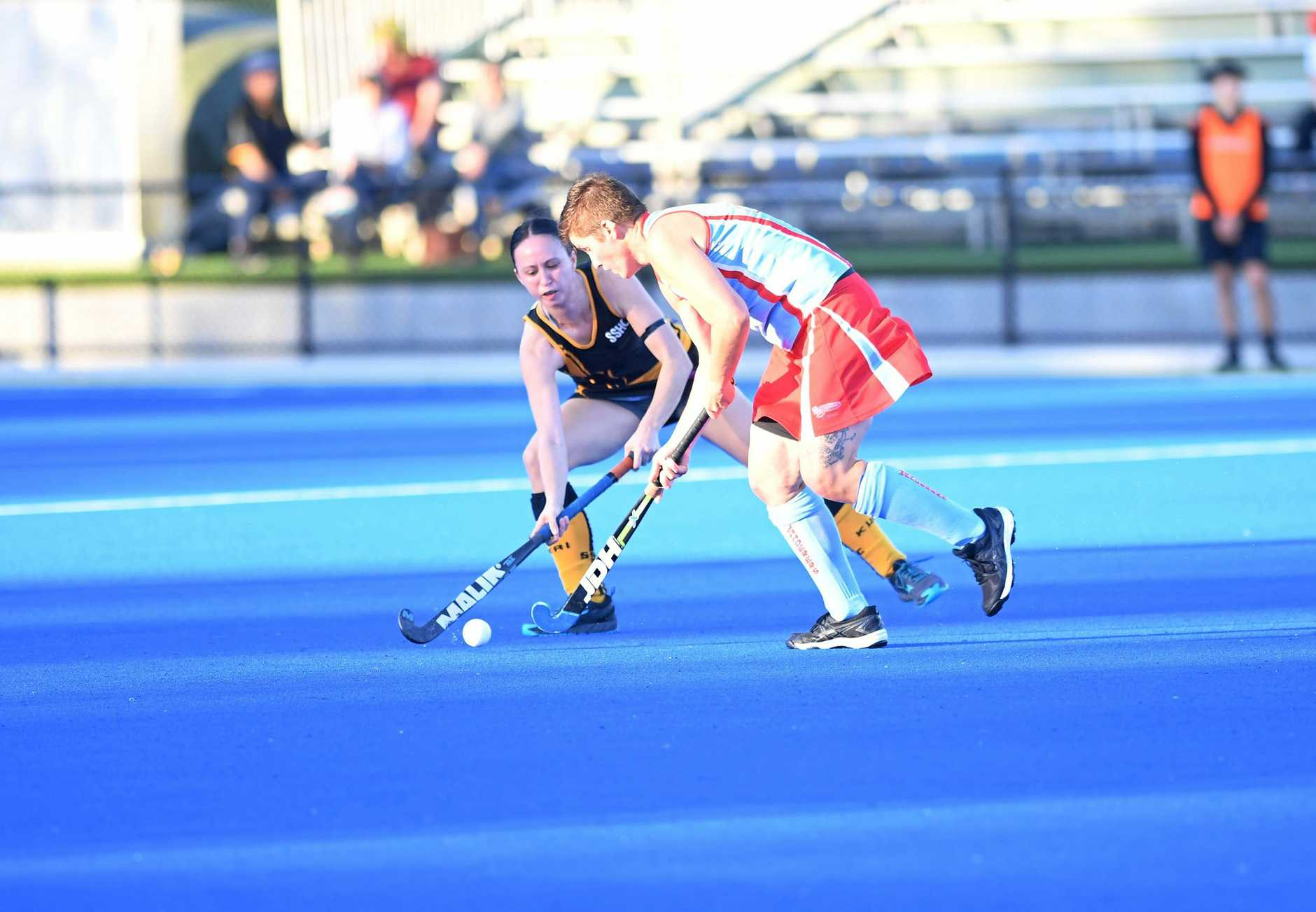 Hockey, Souths Lillian Elder and Wanderers T.Chirio