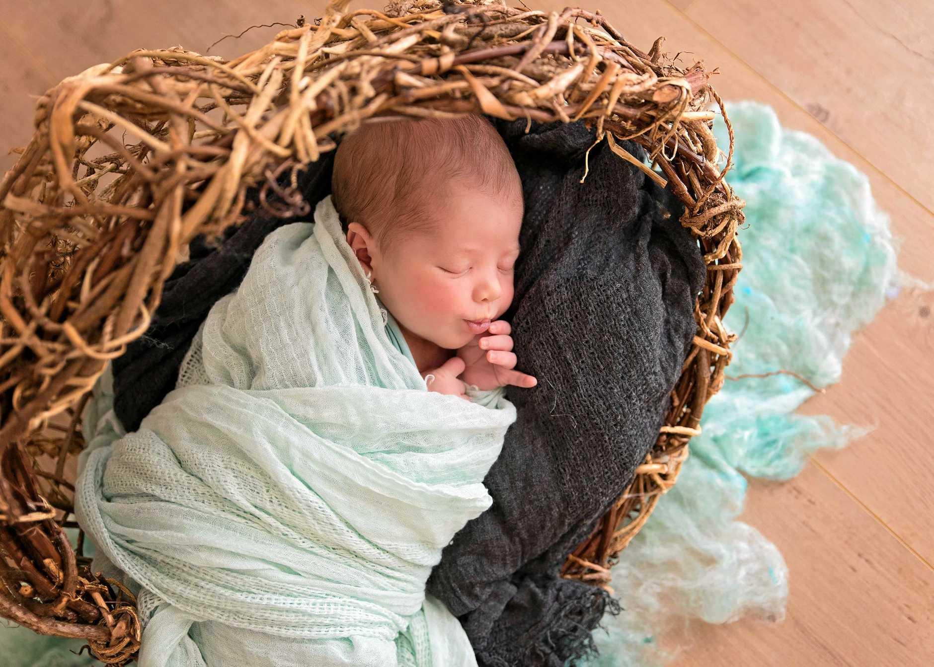 Jordan John Barker was born July 16, 2019.