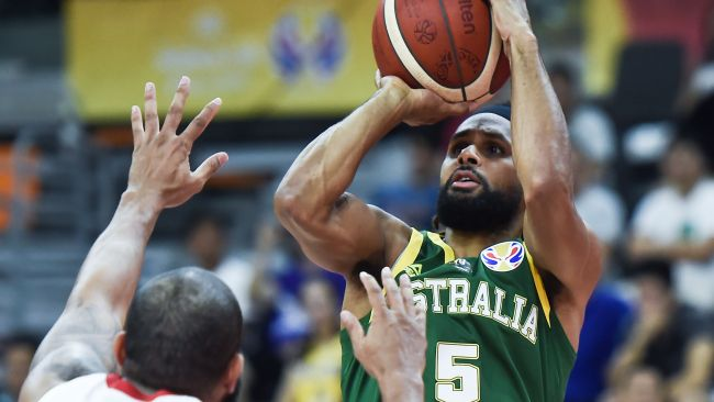 Patty Mills provided a spark for the Boomers.