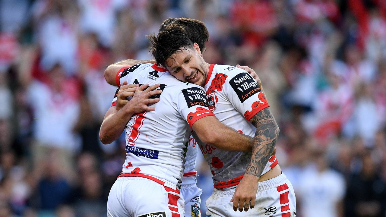 Gareth Widdop experienced a new world when moving from Melbourne to Sydney. Picture: Dan Himbrechts