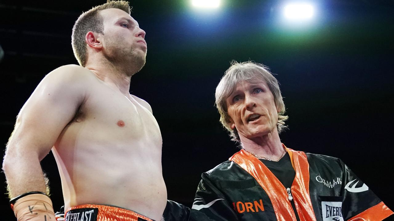 Jeff Horn's diet has come under fire.