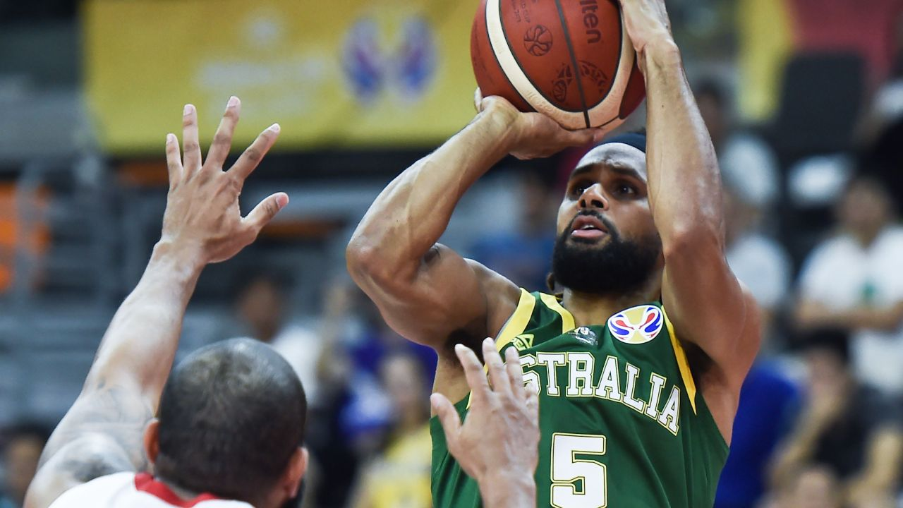 Patty Mills has been a leading light for the Boomers.
