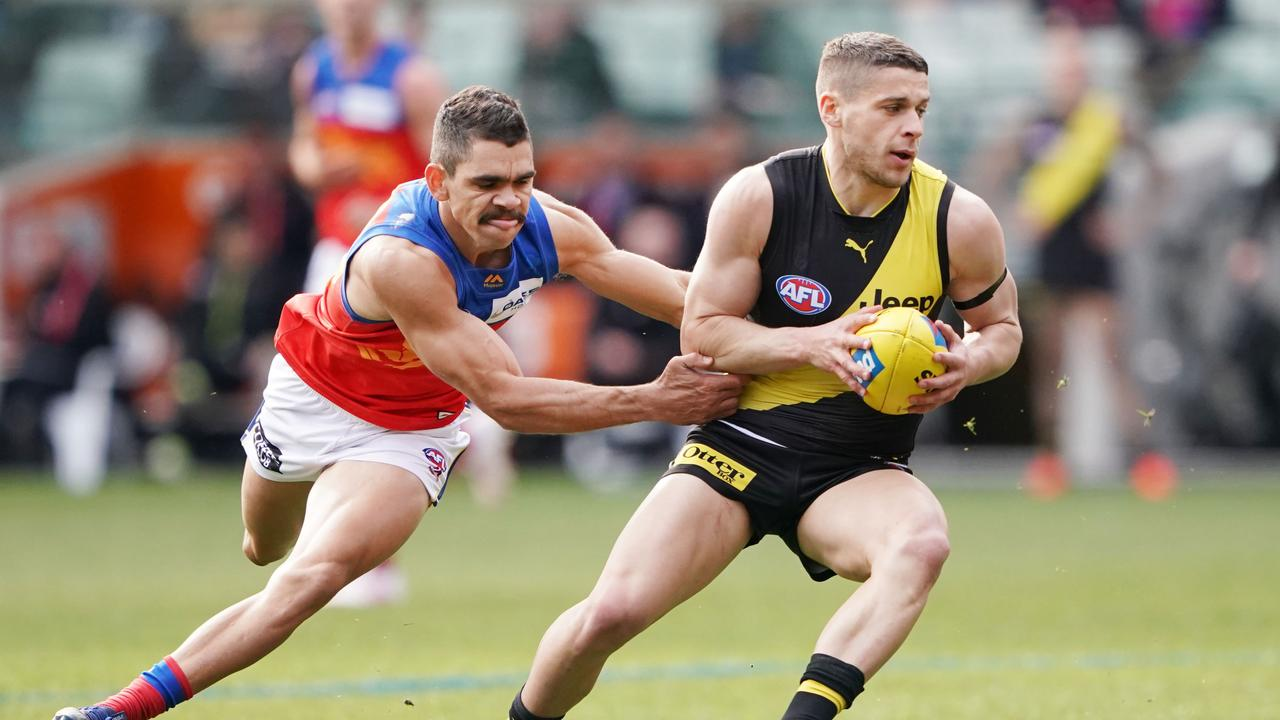 Dion Prestia has confirmed himself fit to play on Saturday night. Picture: AAP