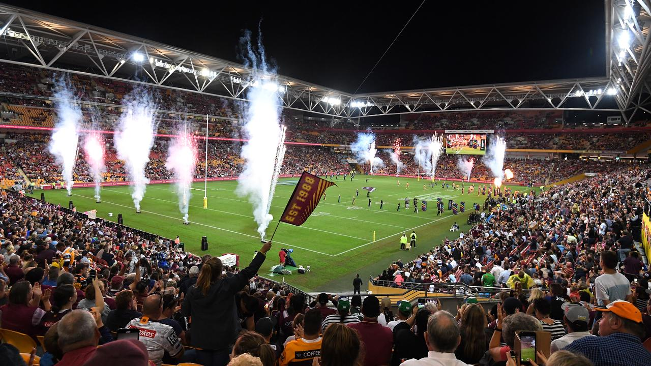 Brisbane should host a rugby league game every week. Picture: AAP