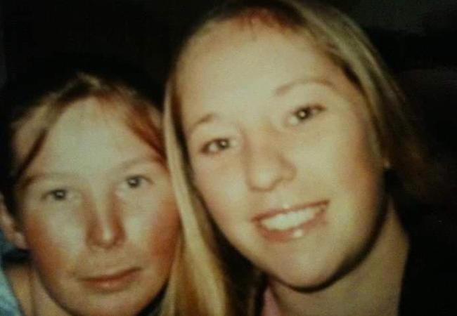 Sisters Jodie and Mel Tyndall. Picture: Supplied by family