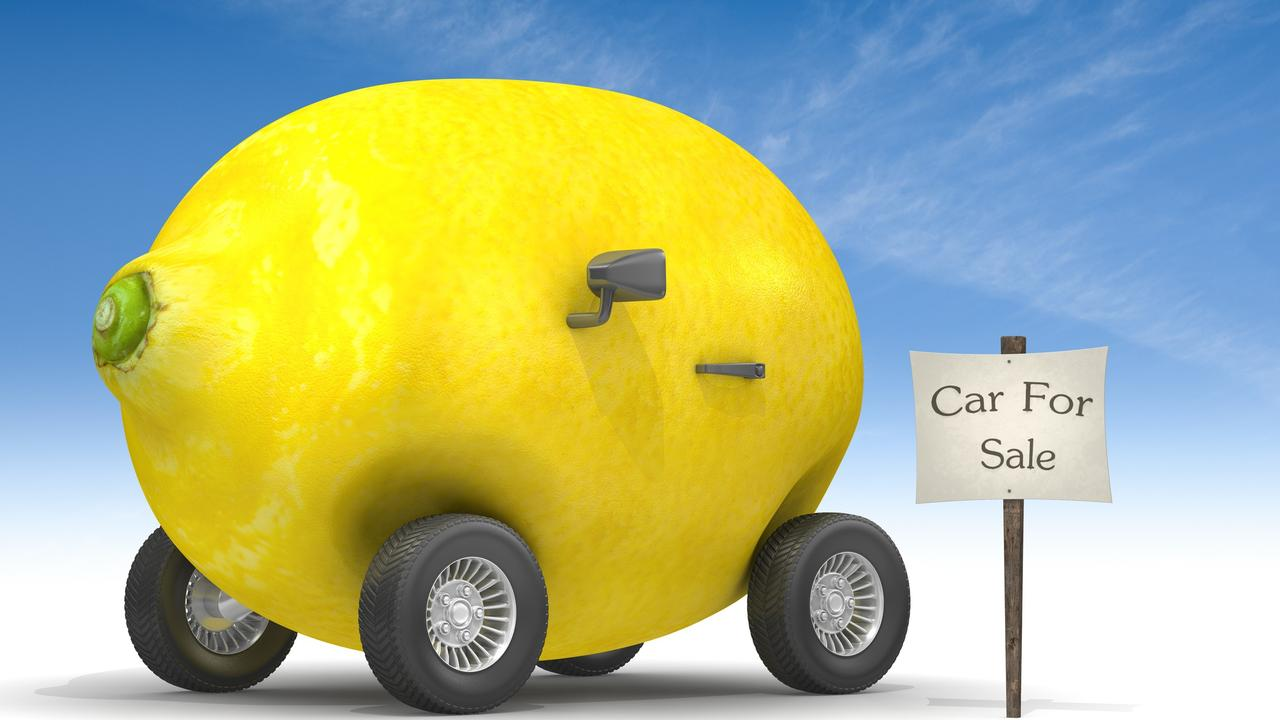 Lemon laws have come into effect for cars.