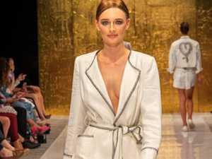 Teen model makes catwalk debut age 16