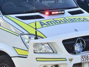Lane closed after three-car crash injures two women