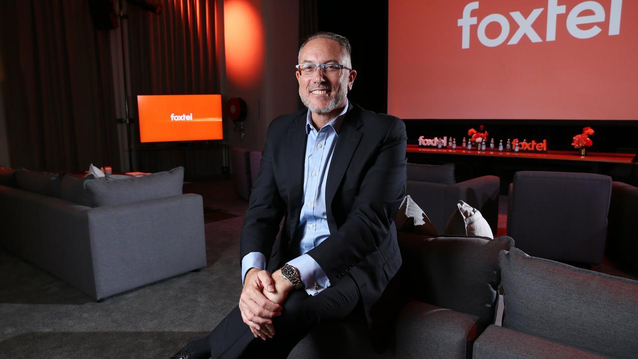 Foxtel CEO Patrick Delany. Picture: Britta Campion