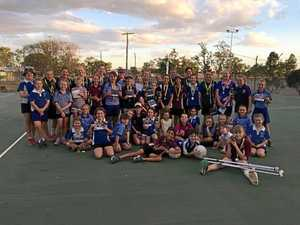 Town's new netball courts stoke controversy