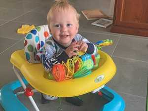 Hank's brave fight: Babies can be affected by strokes too