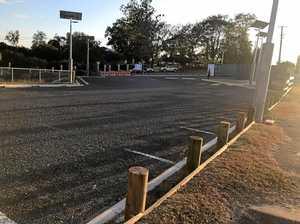 $2.1 million temporary hospital carpark to stay closed