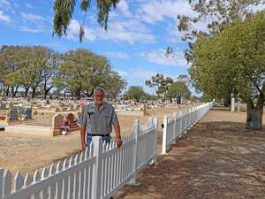 New cemetery fencing built to last for 50 years