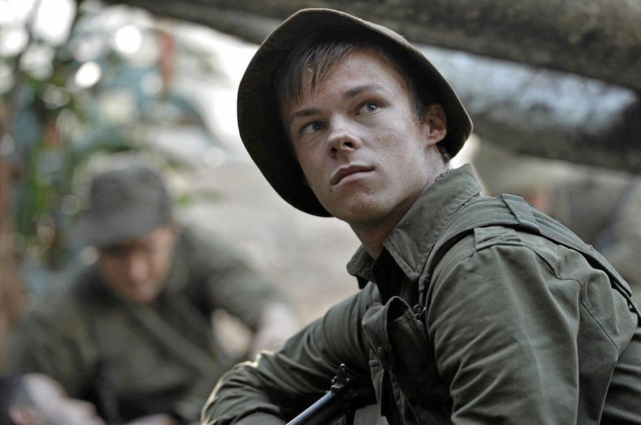 HISTORY: Alstonville resident Nicholas Hamilton as Private Noel Grimes in the new film Danger Close : The Battle of Long Tan.