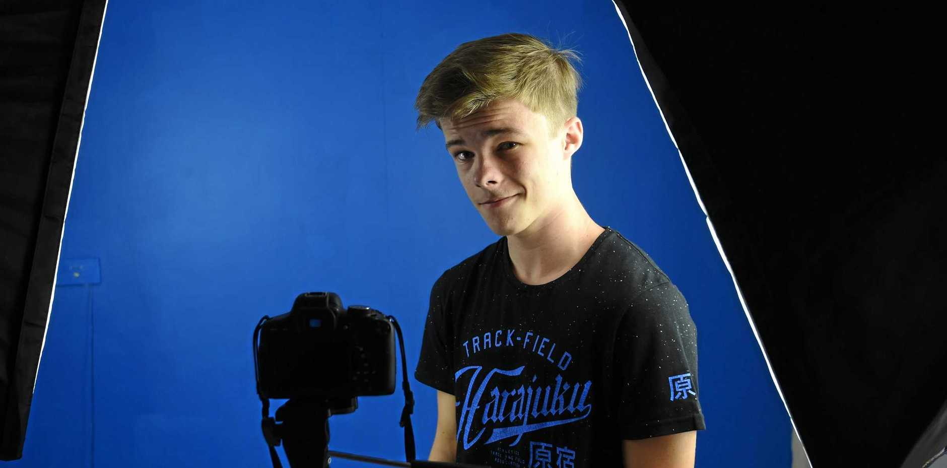 TEEN: Alstonville local Nicholas Hamilton has seen some exciting film projects this year, including the second part top Stephen King's It, opening this week.