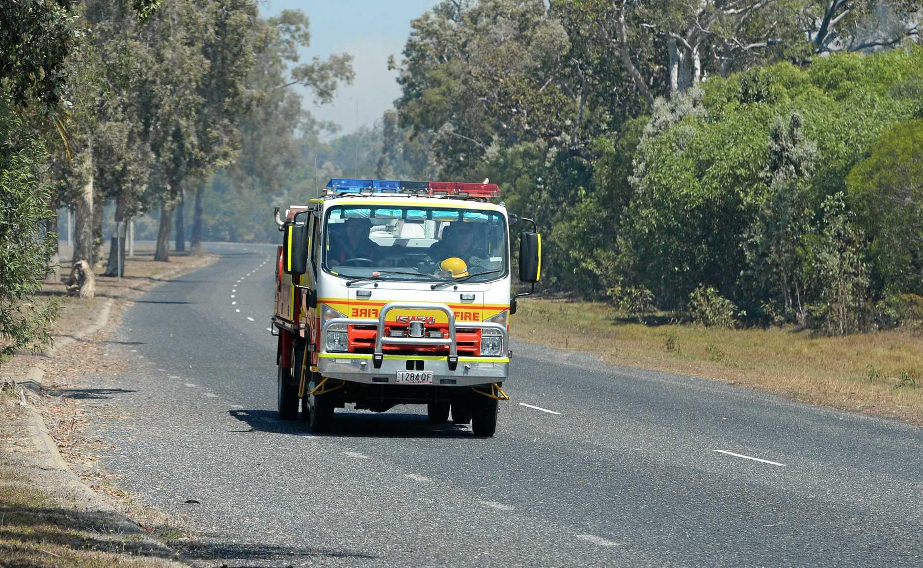 FIRE: Crews are fighting a fire in Farnborough