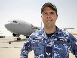 Airforce tech's journey from Glenreagh to the Gulf