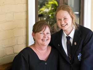 Special QCS test connection for Fairholme student
