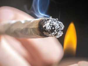 Police sniff out burning marijuana
