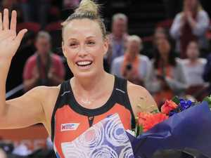 Netball farewells Giant champion Kim Green