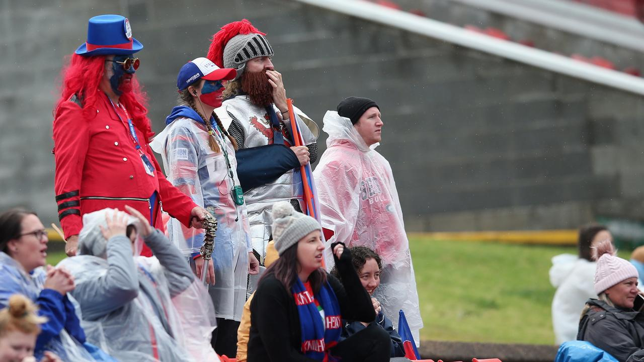 It is a tough time to be a Knights fan. Photo: Ashley Feder/Getty Images