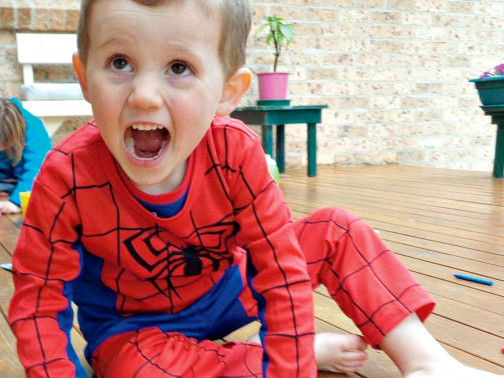 The last known picture of missing William Tyrrell. Picture: NSW Police