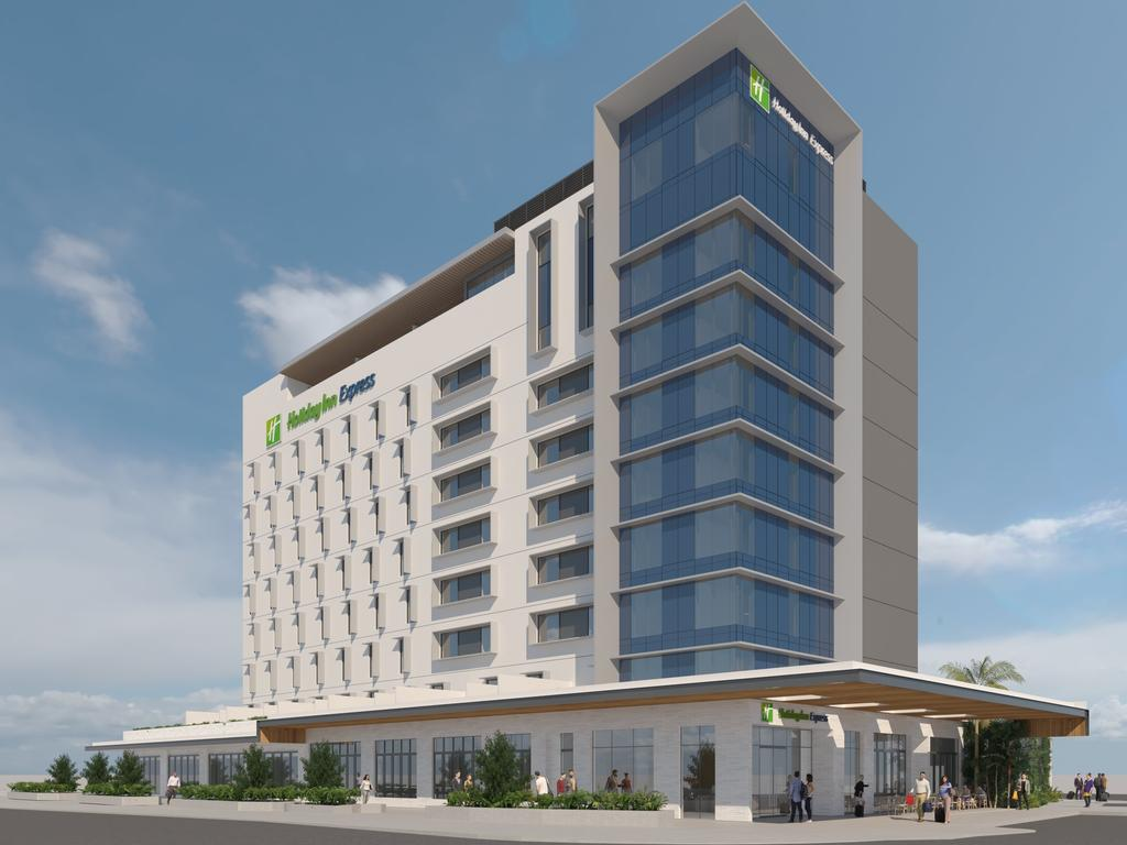 COMING: The Holiday Inn Express set to be built in the new Maroochydore CBD.