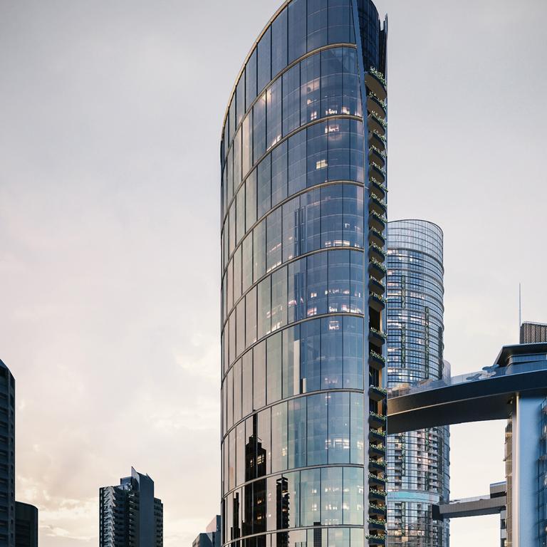 The Queen's Wharf development. Picture: Destination Brisbane Consortium.